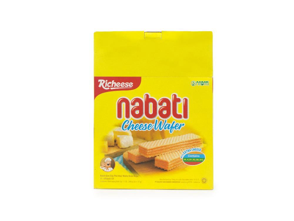 Bánh Kem Xốp Phô Mai Nabati 340g