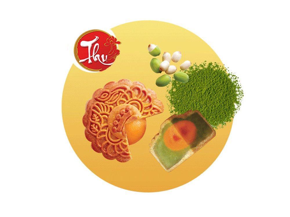 Bánh nướng Trà xanh hạt Macadamia 150g * Kinh Đô (XTX)