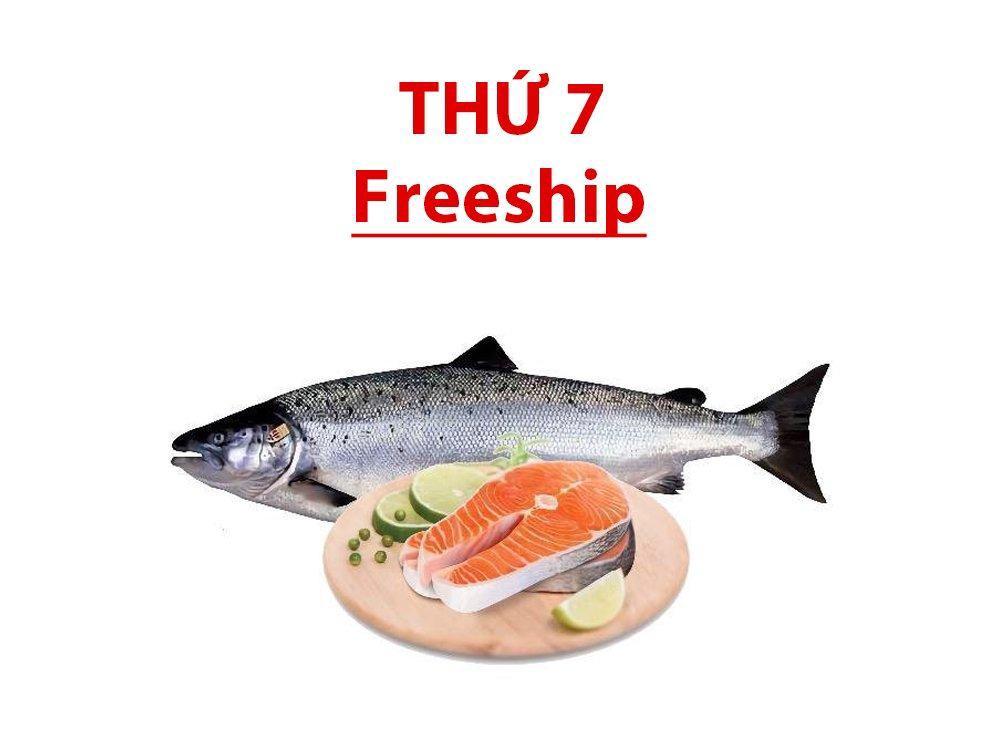 Cá hồi Sapa tươi nguyên con (cắt khúc hộ)