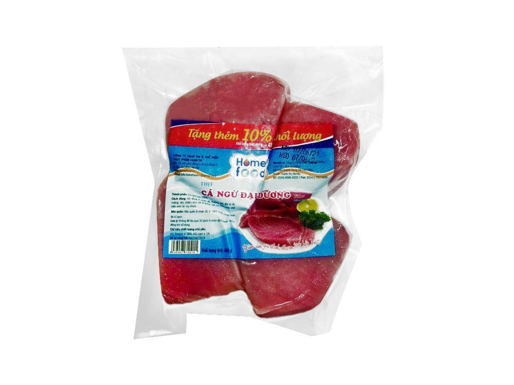 Cá ngừ đại dương fillet Home Food 450g