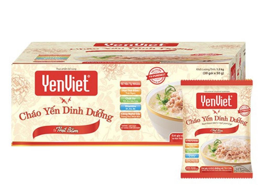 Cháo yến dinh dưỡng YenViet -Vị Thịt Bằm