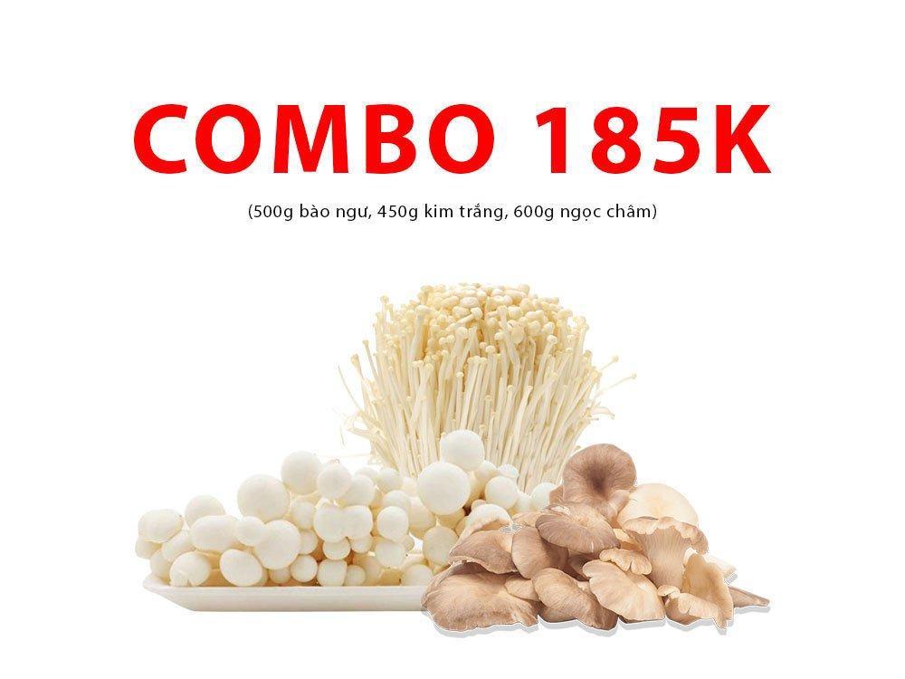 Combo 2 (500g bào ngư, 450g kim trắng, 600g ngọc châm)