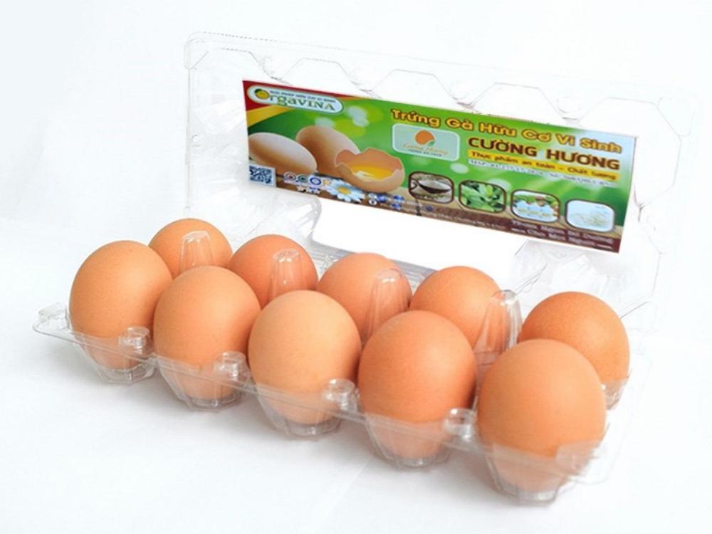 Combo 3 Hộp Trứng Gà Công nghiệp Cường Hương