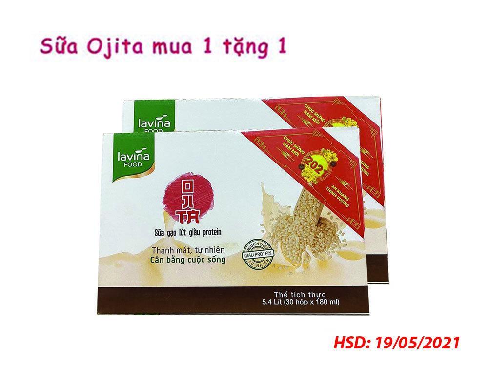Combo Mua 1 Thùng Tặng 1 Thùng Sữa Gạo Lứt Lavina Food 180ml