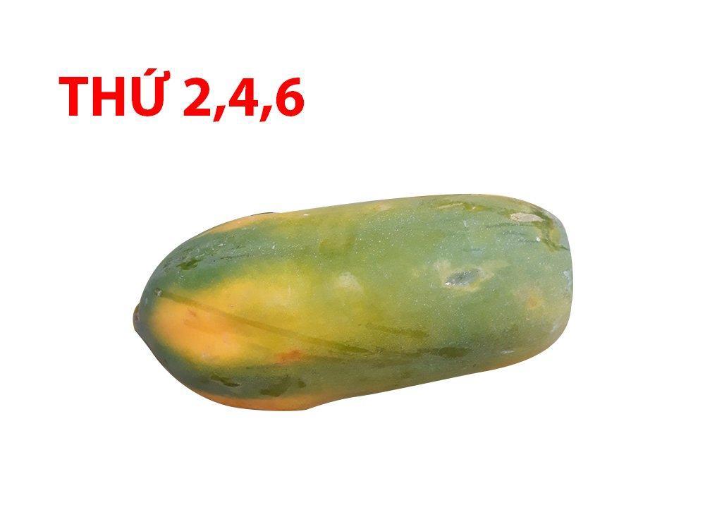 Đu đủ ương từ 0.8kg - 1.2kg