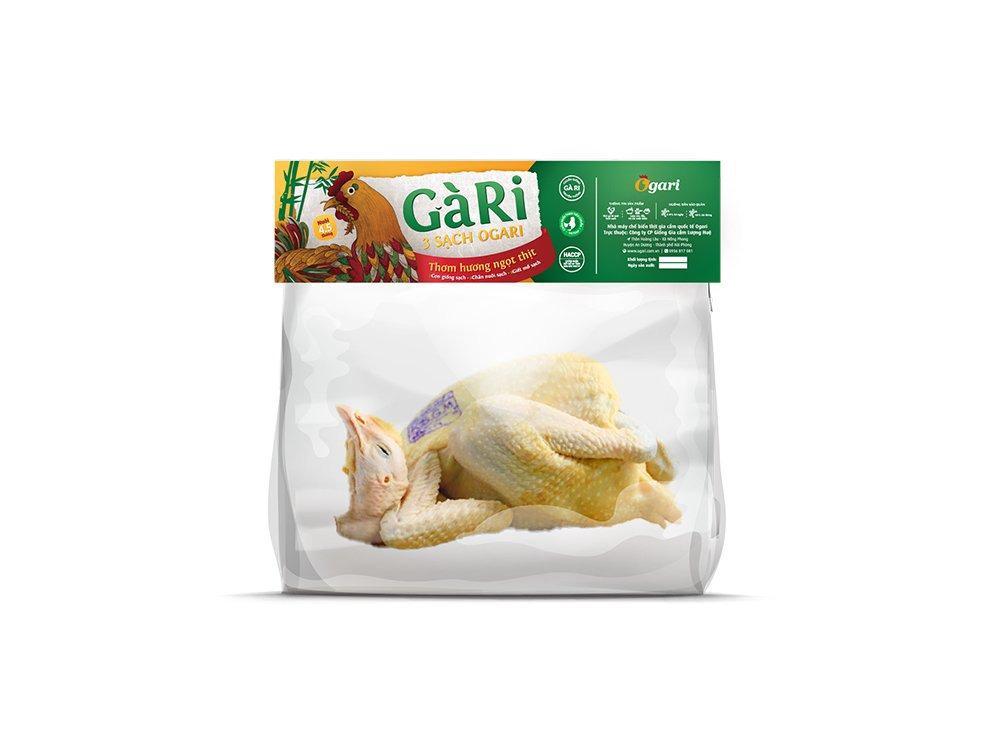 Gà Ri 3 Sạch Ogari (từ 1,2 - 1,6kg)