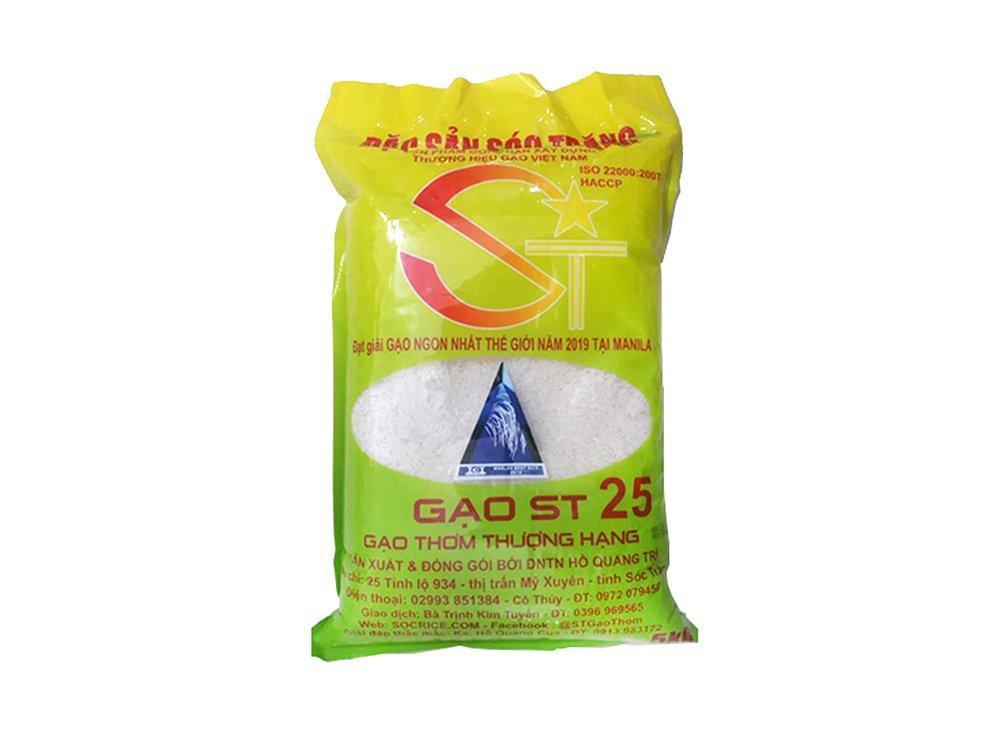 Gạo Sóc Trăng ST25 Hồ Quang Cua 5kg