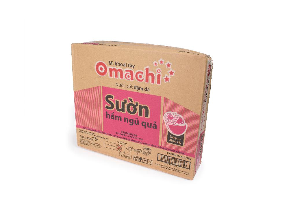 Mỳ Gói Omachi Vị Sườn 80g
