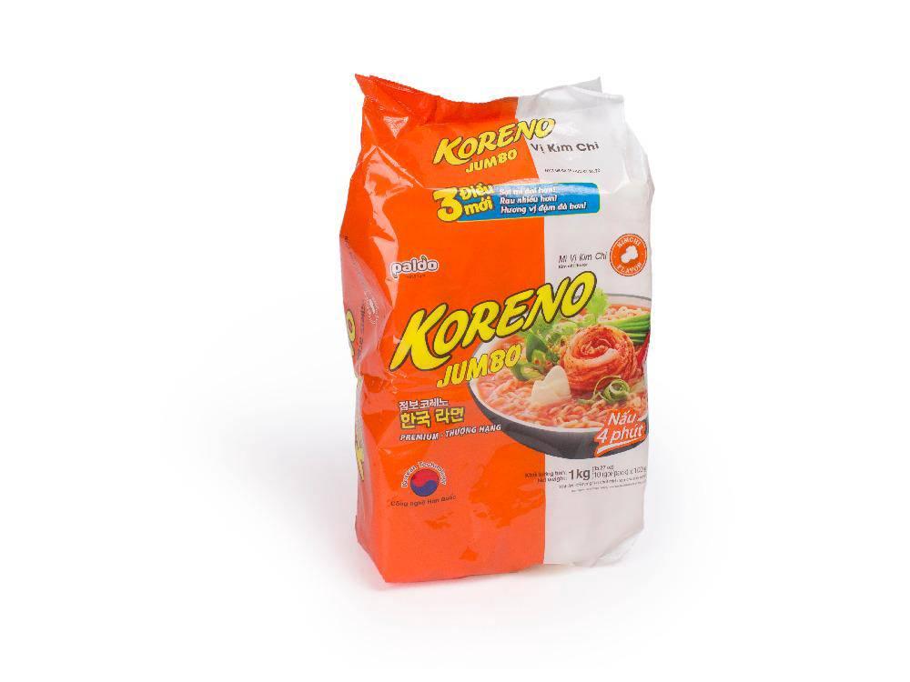Mỳ Jumbo Koreno Kim Chi 1kg