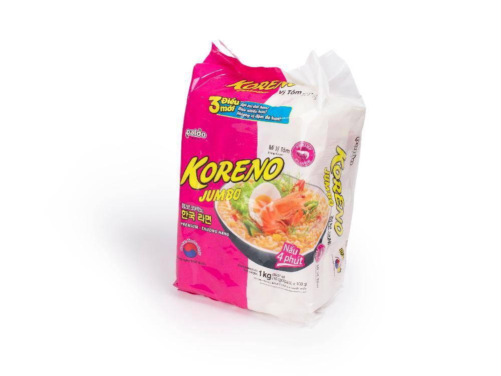 Mỳ Jumbo Koreno Tôm 1kg