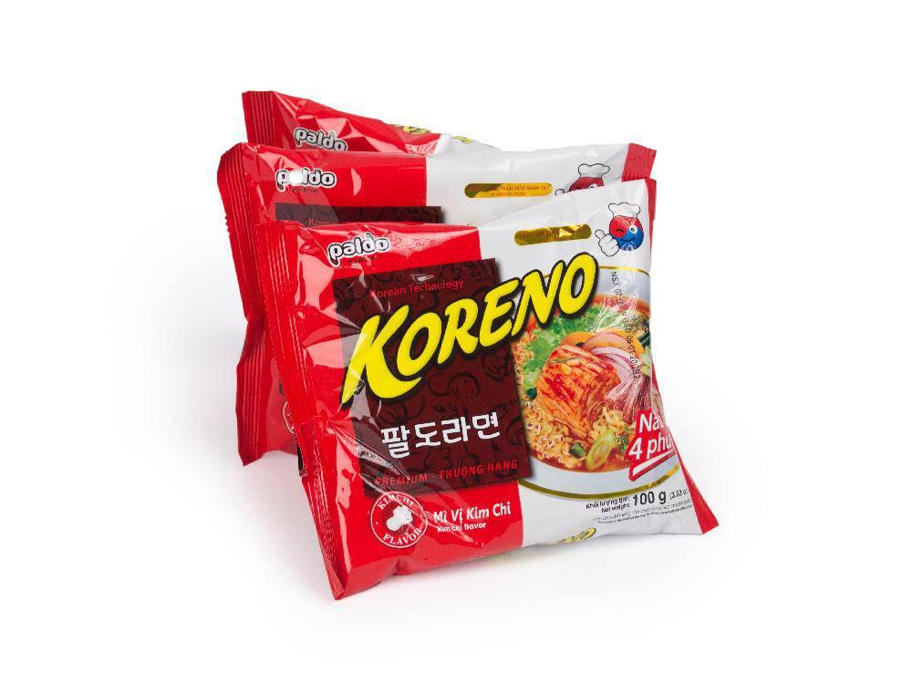 Combo 3 Gói*100G Mỳ Koreno Kim Chi