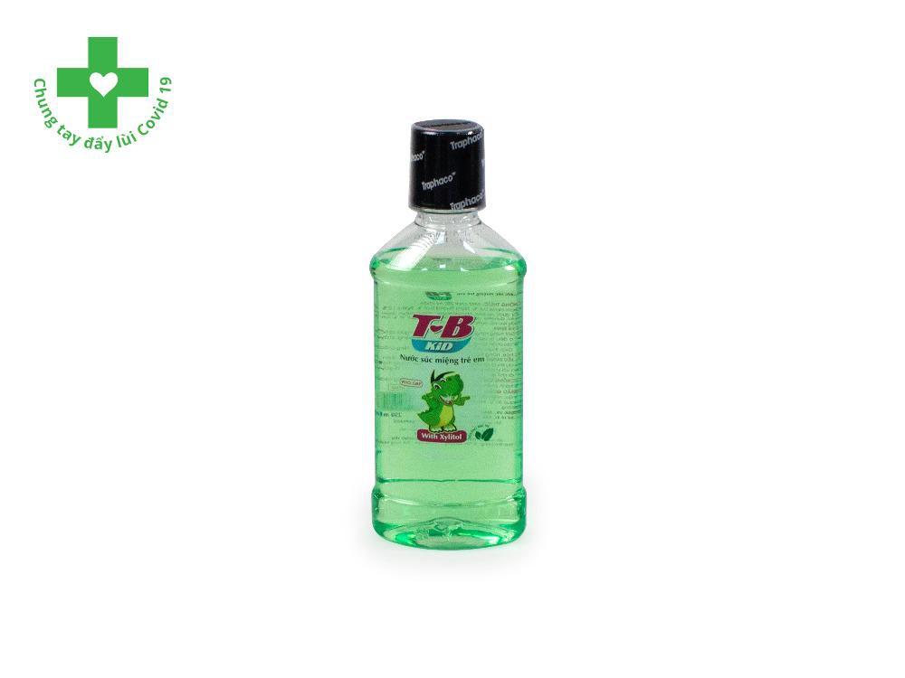 Nước Súc Miệng T-B Kid Chai 250ml
