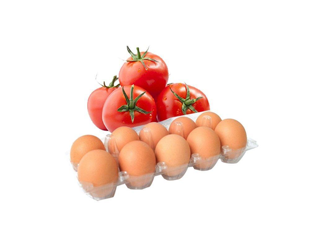 SET 1 (1 hộp trứng gà CN Thuần Việt + 1kg cà chua)