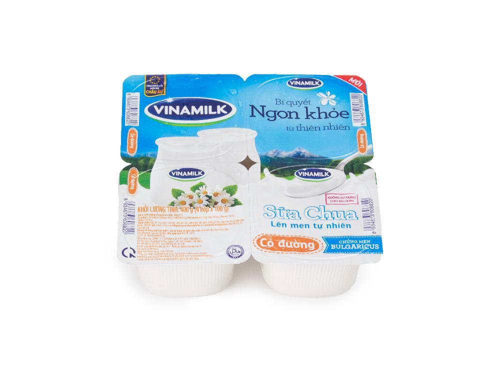 Sữa Chua Ăn Có Đường Vinamilk 100g