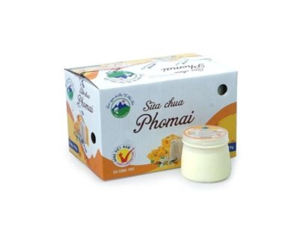 Sữa Chua Ba Vì Phomai 110g Thùng 12 Hộp