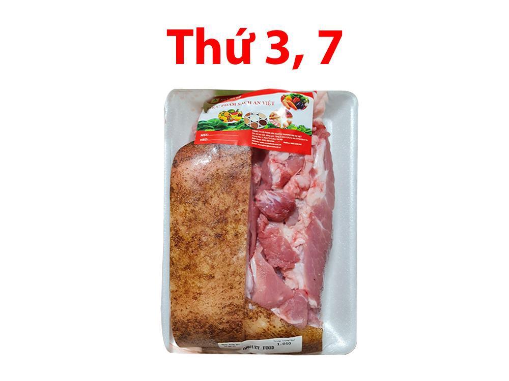 Thịt lợn mán 1kg