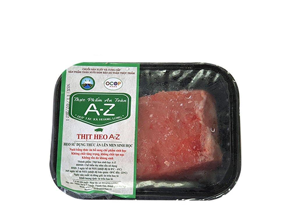Thịt nạc thăn lợn Sinh học A-Z hộp 500g