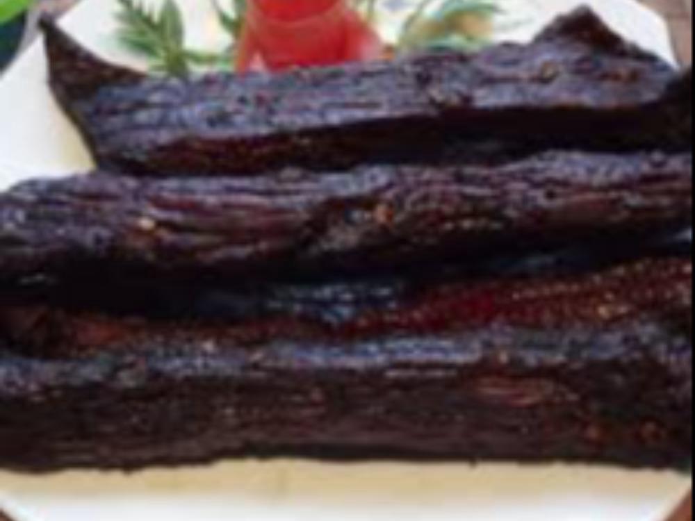 Thịt trâu gác bếp vùng cao Hà Giang gói 500 gr