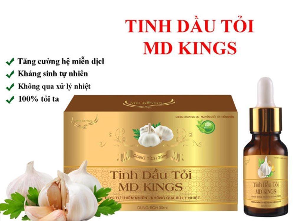 Tinh dầu tỏi MD KINGS