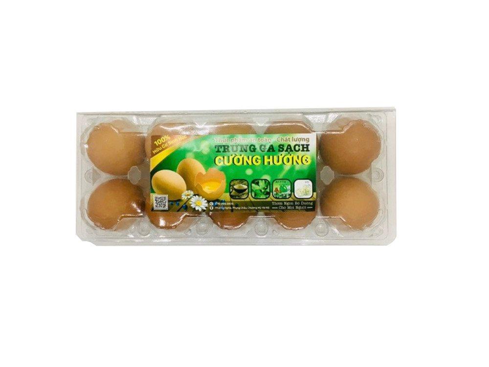 Trứng gà Công nghiệp Cường Hương hộp 10