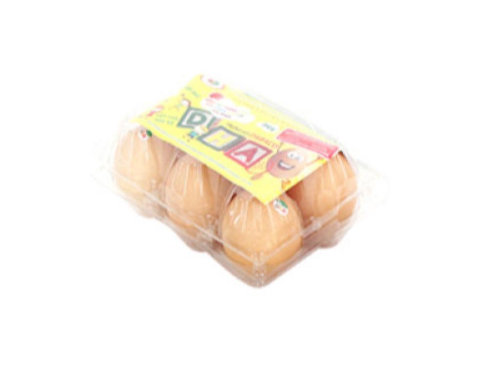 Trứng Gà DHA Dabaco Hộp 6 Quả